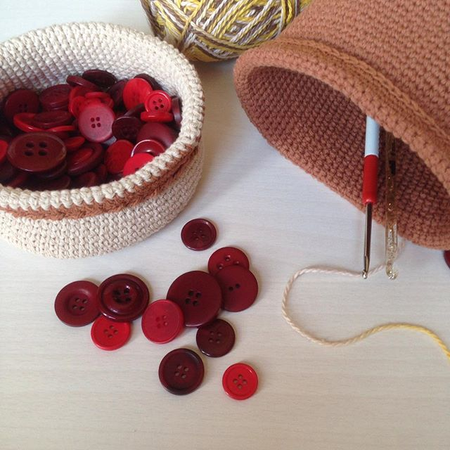 Интерьерные #корзинки #длямелочей 🌺❤️😍#корзинкакрючком #basket #корзинкаизхлопка #хлопок #cotton #