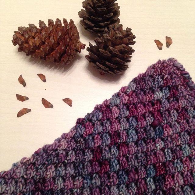 Снуд #malabrigoyarn #malabrigomecha ❄️❄️❄️ #crochet #wool #handmade #babyboutiqueru #snood #вяжусама