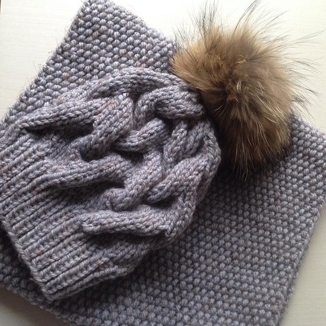 Комплект шапка и снуд✨❄️#yarnlove #cozy #instamama #instagram #knitstagram #like #love #snood #baktu