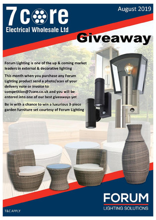 Forum Lighting Giveaway