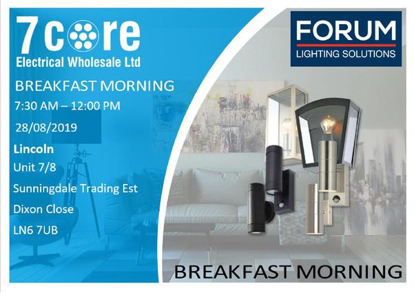 Forum Lincoln Breakfast Morning