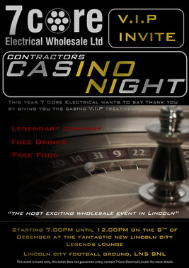 Lincoln's Casino Night