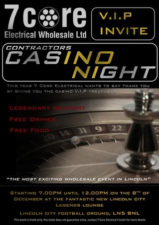 Lincoln's Casino Night