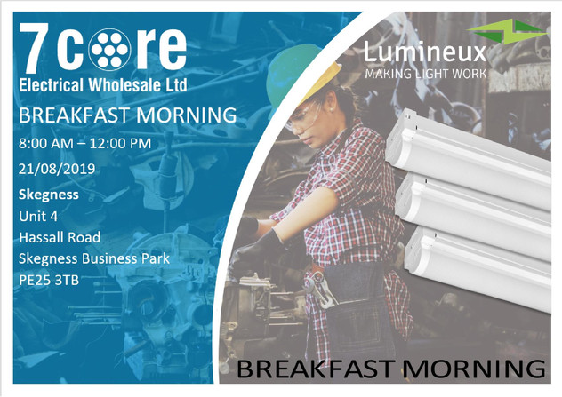 Skegness Luminuex Breakfast Morning