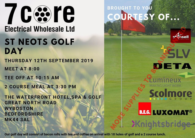 St Neots Annual Golf Day