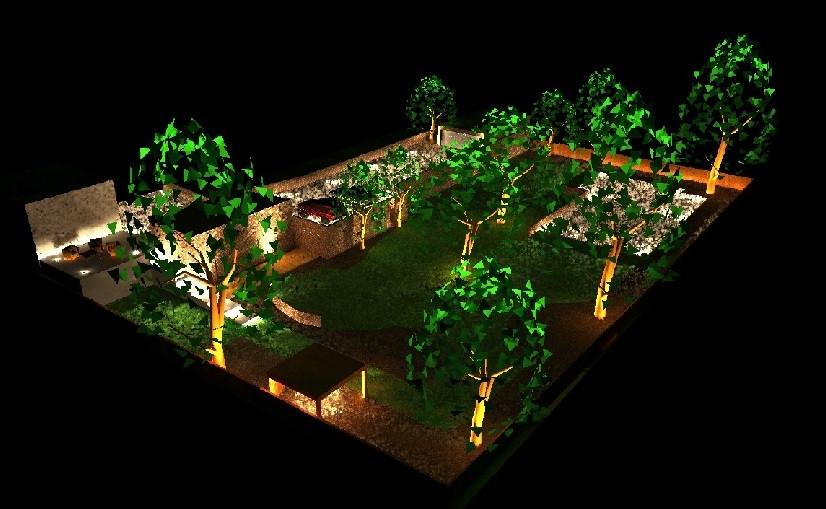 Garden External Lighting
