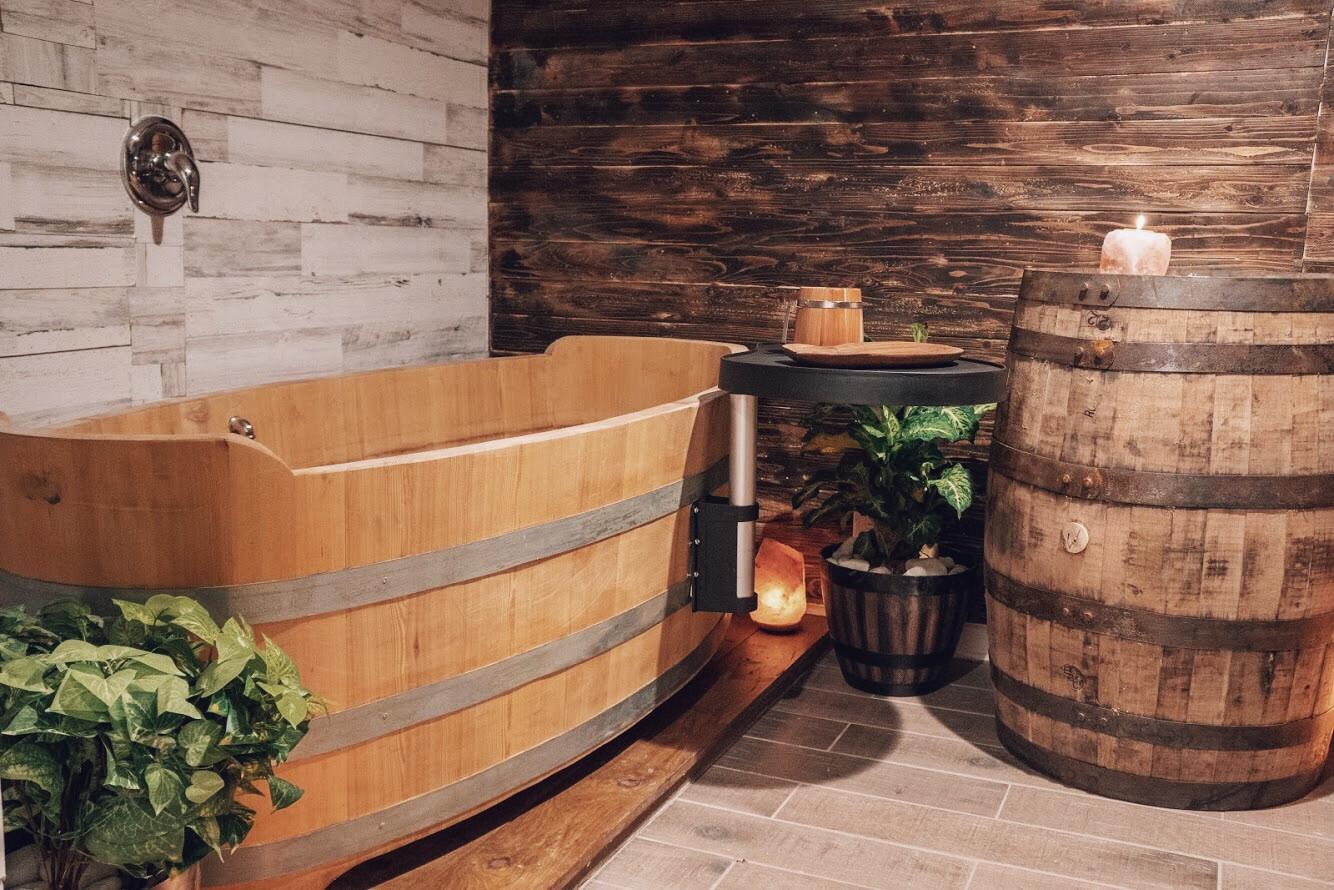 soak room