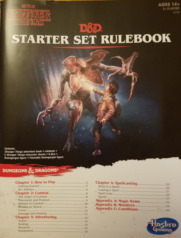 Starter Set Rulebook cover
