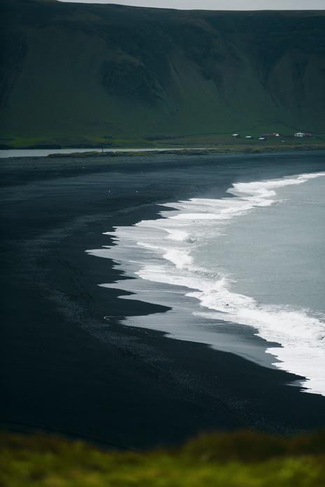 waves wash away