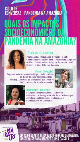 Quais os impactos socioeconômicas da pandemia na Amazônia? (15/04)