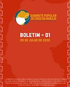 Boletim 01 - 05/07