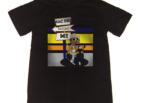 Mac Dre taught me tee (Black)