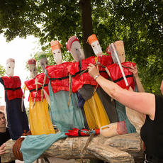 Driftwood - Theatre Maker and Puppeteer, THE FACELESS COMPANY - Street Theatre and Community Arts