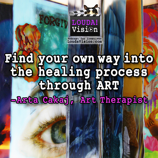 Podcast Interview: My journey into art therapy private practice at Wholehearted Creative Arts Therap