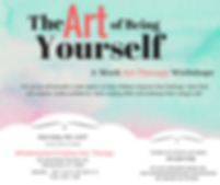 Art Therapy group in Westchester. The Art of being yourself. 6 - week art therapy workshops. The group will provide a safe space to help children express their feelings, raise their self-esteem, build confidence, learn coping skills and embrace their unique self.