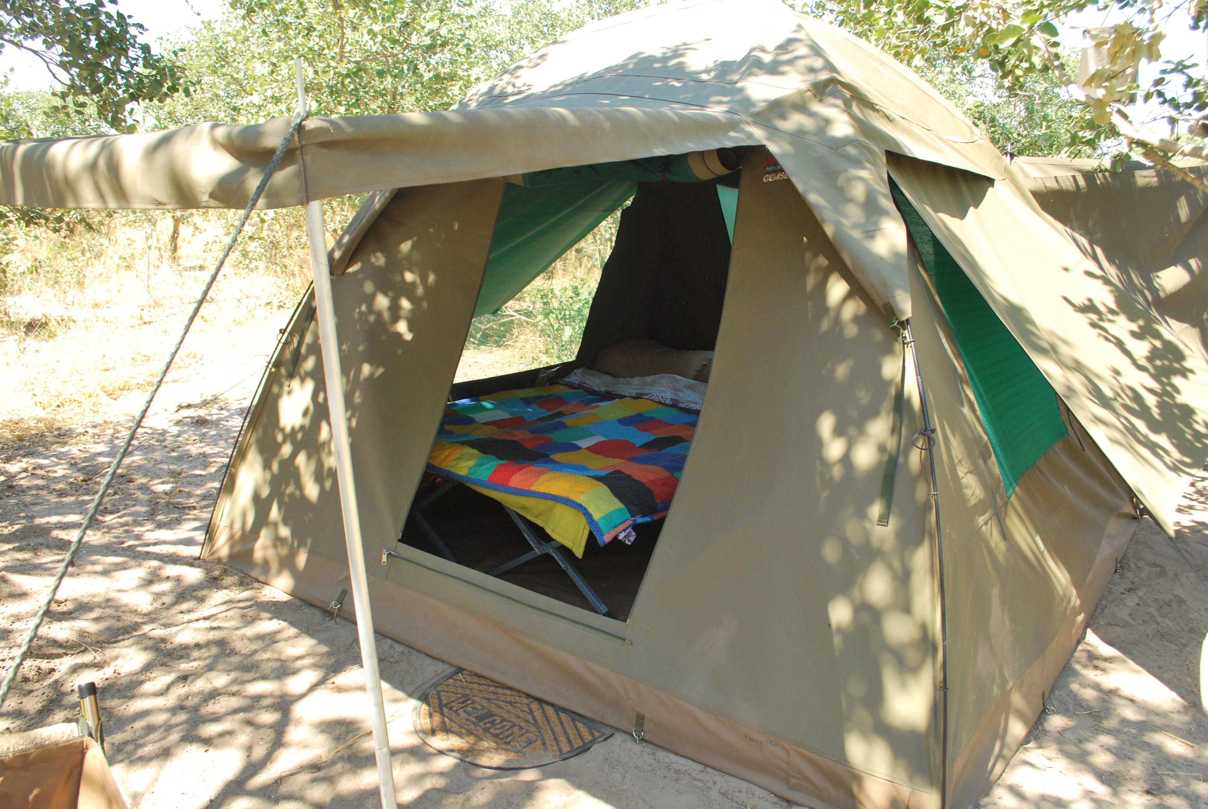 Moremi Game Reserve Campsite