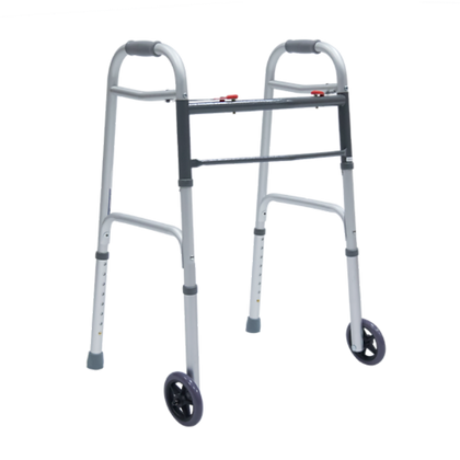 Andadera premium plegable con ruedas