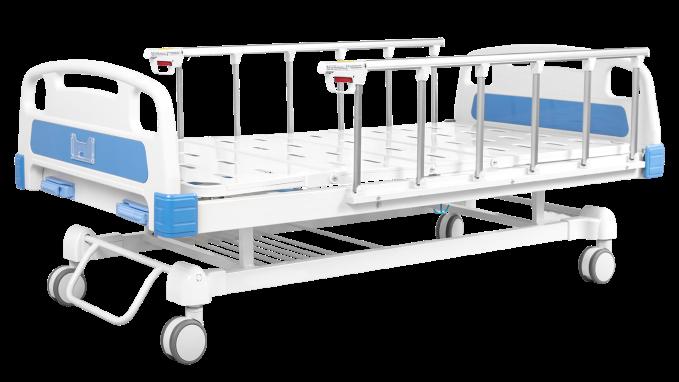 Cama hospitalaria manual de 2 funciones