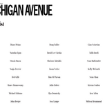 Michigan Avenue The List