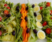 Salada de Legumes com Ovos