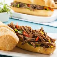 sanduiche carne desfiada