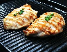 Filet de peito frango grelhado