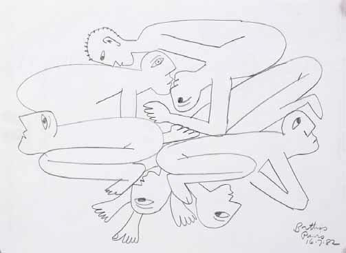 Figural Composition