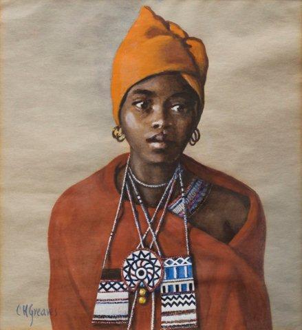 "Portrait, ""Nosiswe, Tembu Cala"""