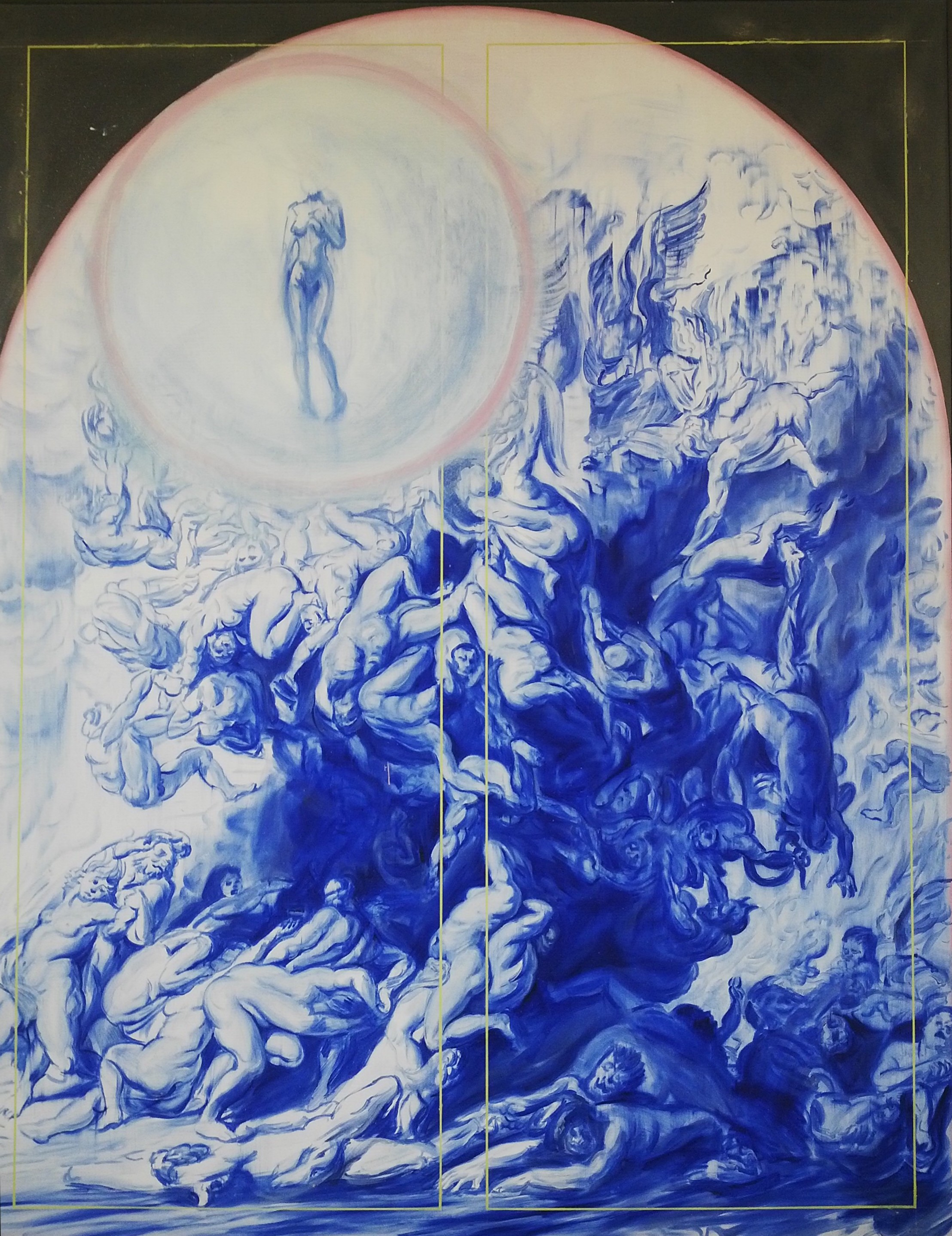The Falling of the Damned (Blue)