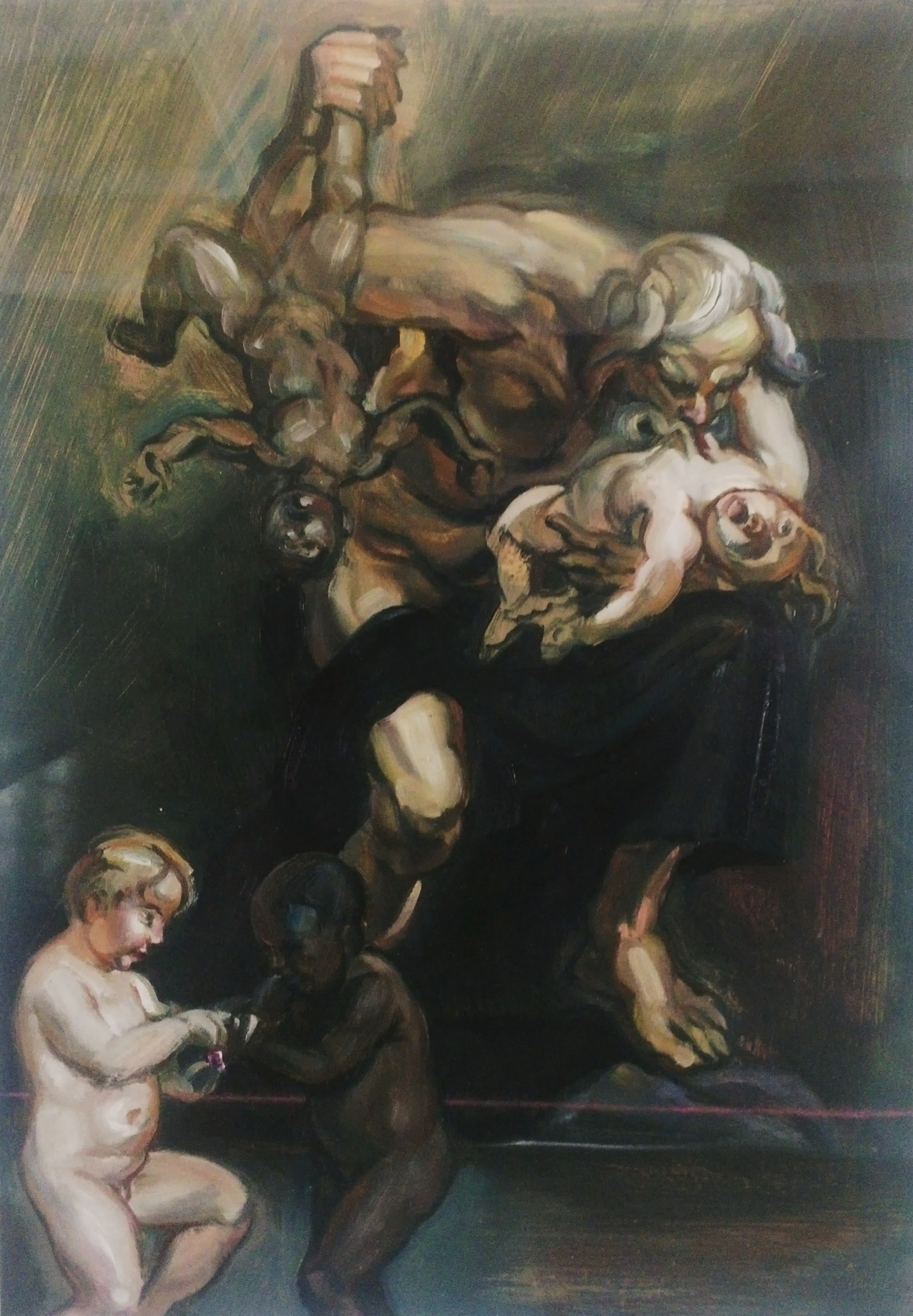 Saturn Devouring His Own Children