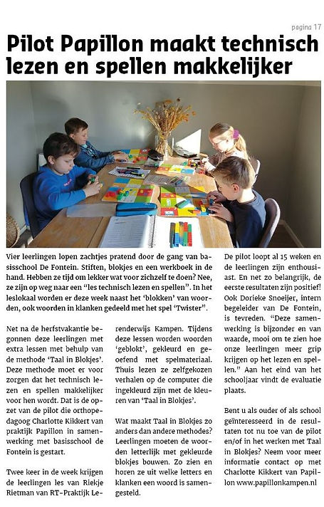 De Brug_18-5-2021 Pilot Taal in Blokjes.