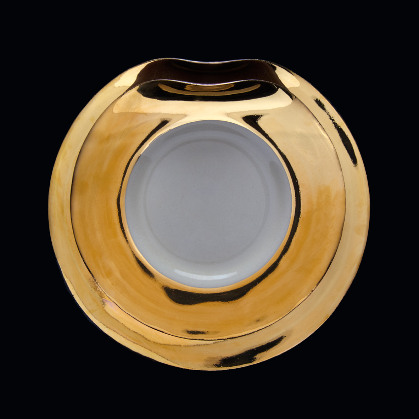 Ripple | Dinner set | Gold