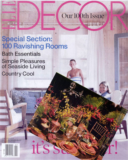 Elle Decor - Dining by Design