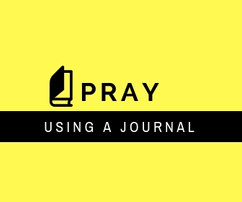 How writing your prayers can help you to develop a rhythm of prayer.