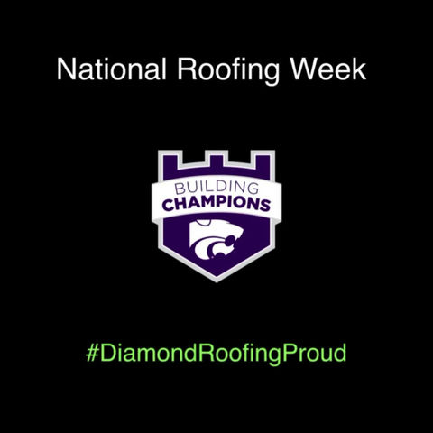 Diamond's Signature Project for #NationalRoofingWeek 2020