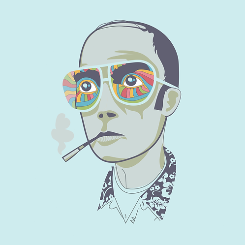 Hunter S Thompson POSTER
