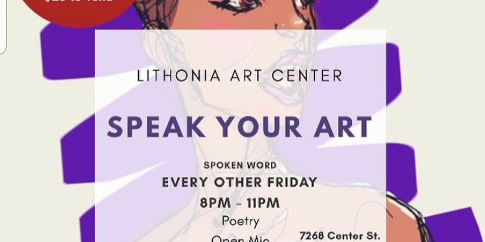 Speak Your Art Spoken Word