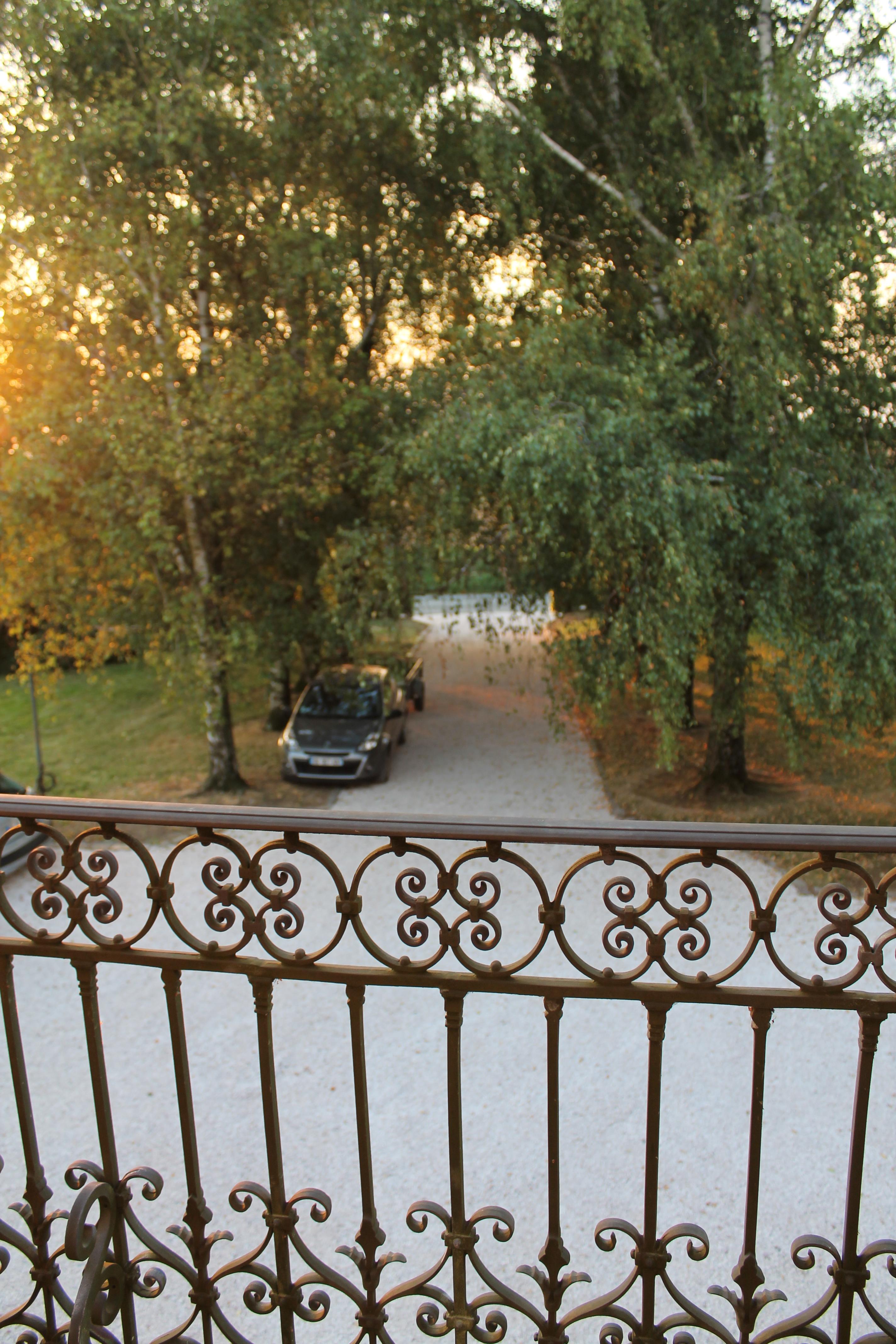 vue du balcon étage