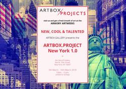 Art Box Invite