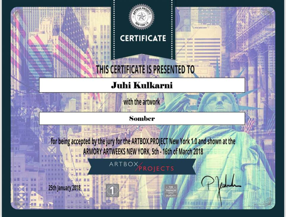 Art box certificate