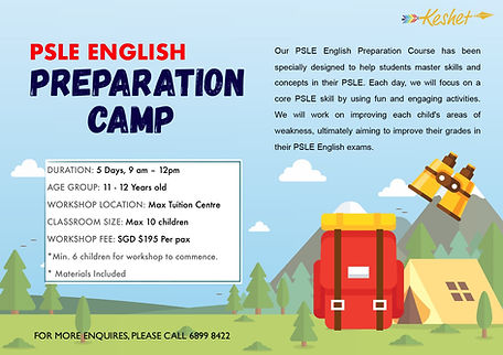PSLE Tuition Boot Camp