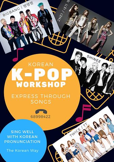 K pop singing lesson