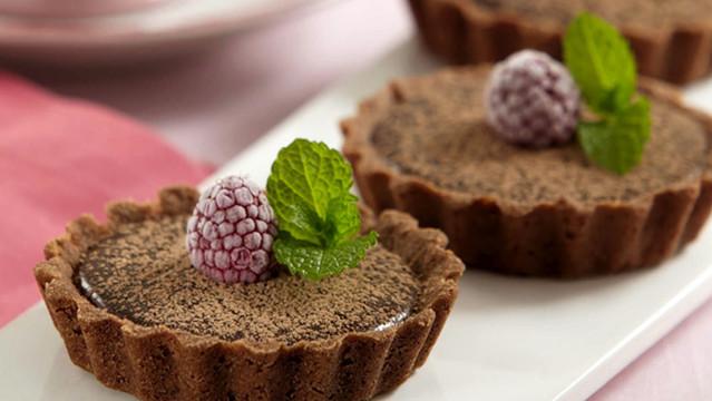 Tortinha Funcional de Chocolate