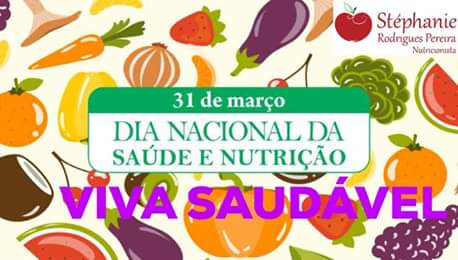 Dia Nacional da Saúde e da Nutrição