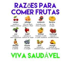 Razões para comer frutas