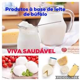 Produtos com leite de búfalo