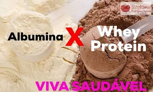 Albumina X Whey Protein