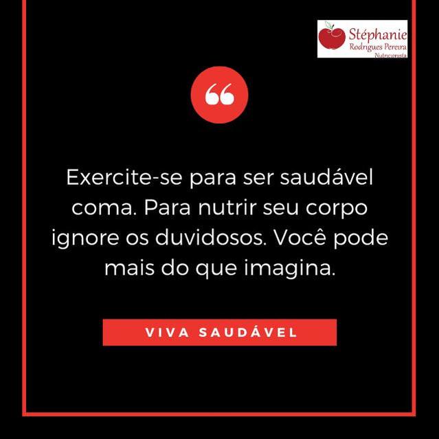 Exercite-se para ser Saudável