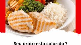 Seu prato esta colorido ?