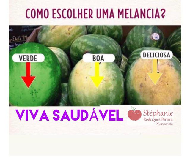 Como saber se melancia está doce